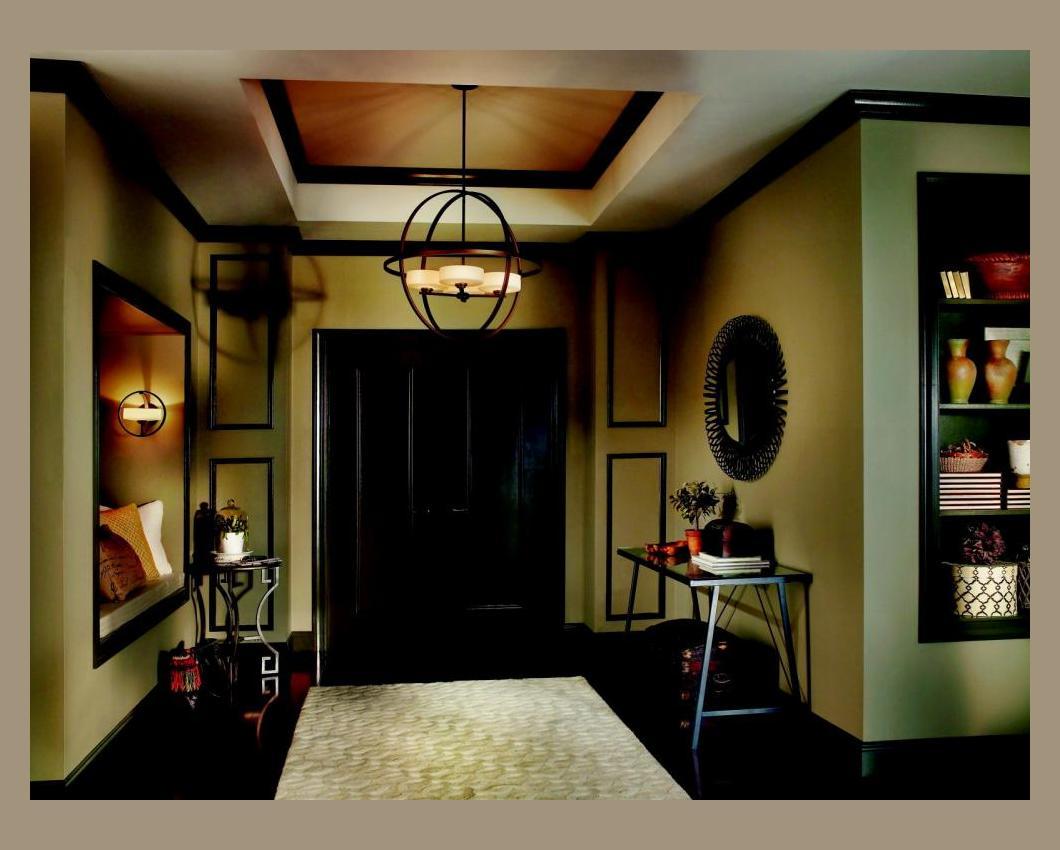 Shop Kichler Lighting 4 Light Bayley Olde Bronze Bathroom: Olsay Collection 4-Light 28 Olde Bronze Pendant Chandelier