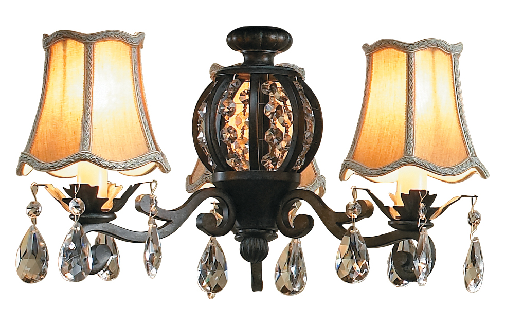 craftmade antique verde antoinette light with three 40 watt lights and. Black Bedroom Furniture Sets. Home Design Ideas