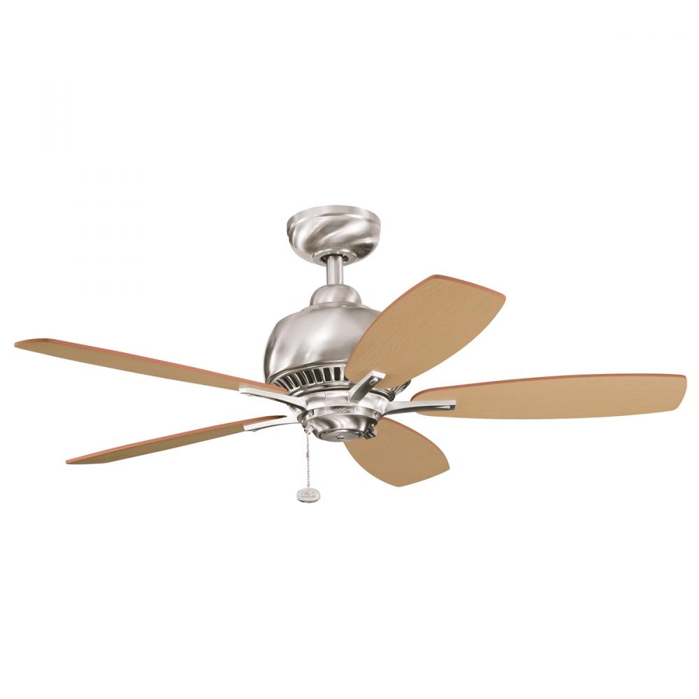 Kichler Brushed Stainless Steel Ceiling Fan BSS