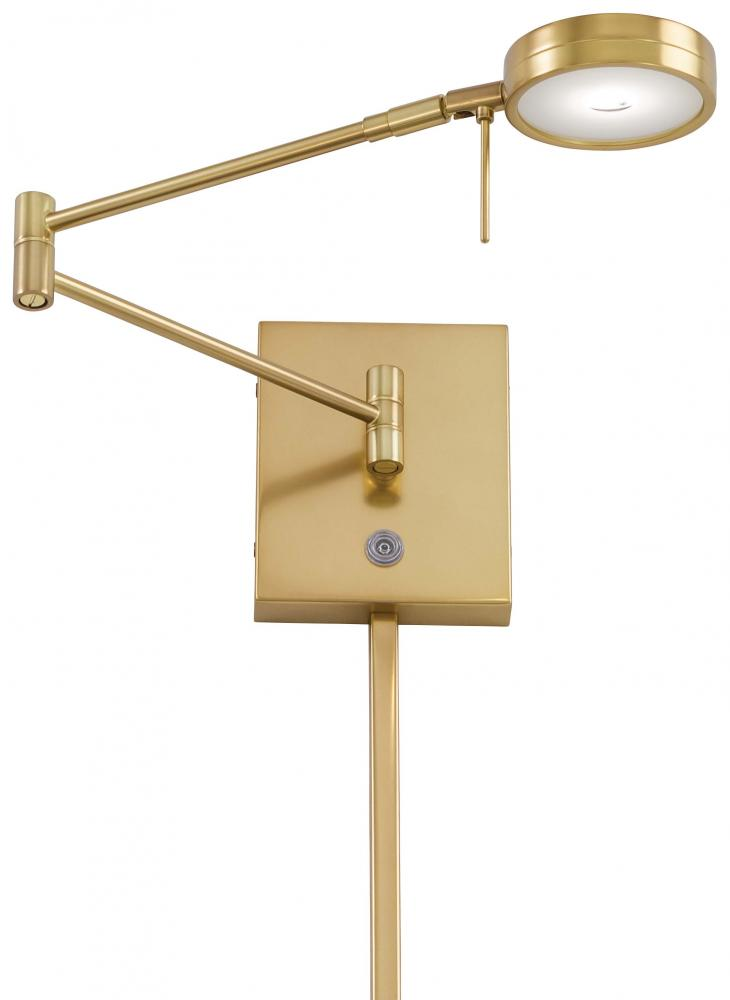 Minka George Kovacs One Light Metal Shade Honey Gold Wall Light P4308 248