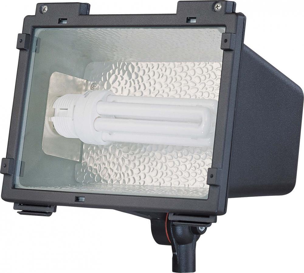 nuvo compact fluorescent landscape flood light 42w plt. Black Bedroom Furniture Sets. Home Design Ideas