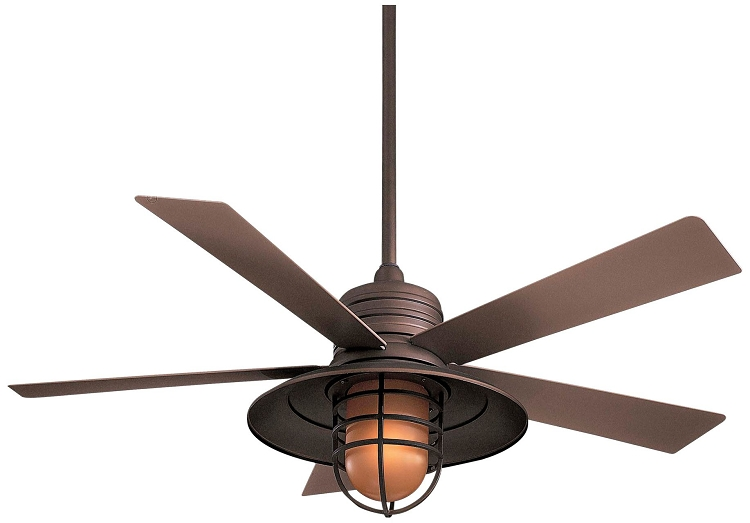 Rainman collection 54 wet location oil rubbed bronze Outdoor ceiling fan sale