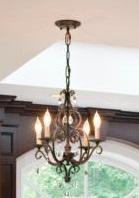 Chateau Collection 4 Light 22 Quot Mocha Bronze Mini