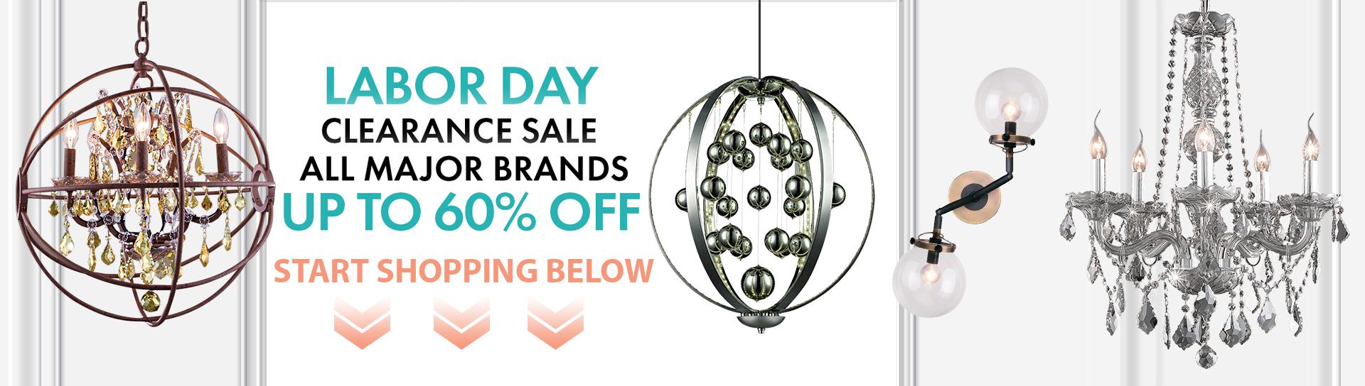 Labor Day Lighting & Home Decor Sale